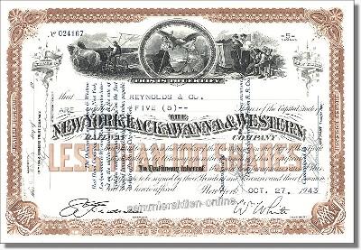 New York, Lackawanna & Western Railway Company