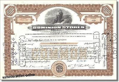 Dominion Stores Ltd.