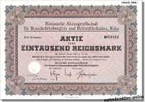 Rheinische Aktiengesellschaft für Braunkohlenbergbau und Brikettfabrikation