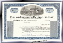 Erie and Pittsburgh Railroad Company