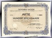 Tuchfabrik Aachen vorm. Süskind & Sternau AG