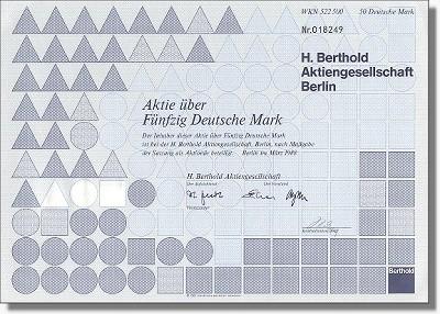 H. Berthold Aktiengesellschaft
