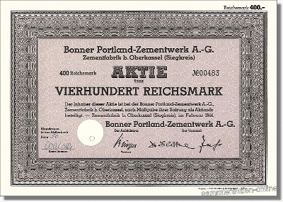 Bonner Portland-Zementwerk AG - Dyckerhoff