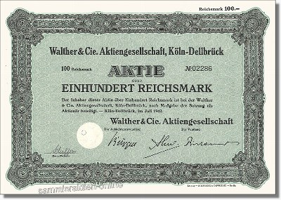 Walther & Cie. AG