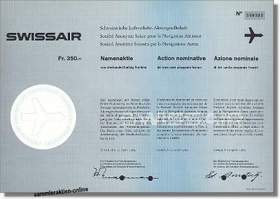 Swissair Schweizerische Luftverkehr-AG
