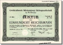 Grosskraftwerk Württemberg Aktiengesellschaft