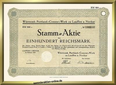 Württembergisches Portland-Cement-Werk zu Lauffen am Neckar