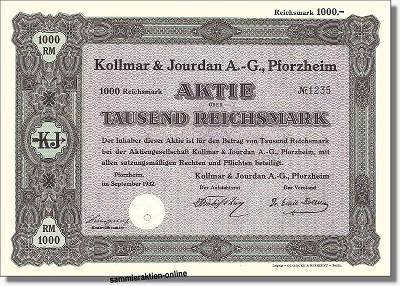 Kollmar & Jourdan AG