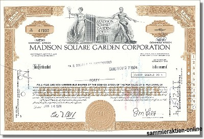 Madison Square Garden Corporation