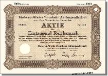 Motoren-Werke Mannheim AG, vorm. Benz