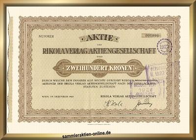 Rikola Verlag AG