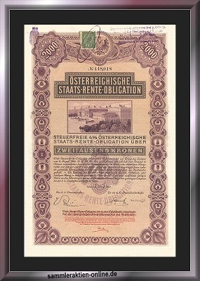 Österreichische Staats-Rente-Obligation