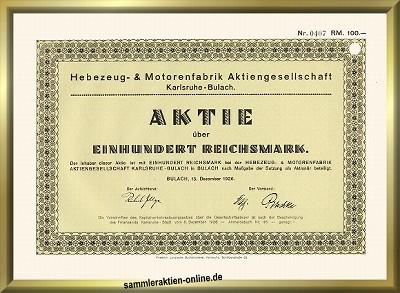 Hebezeug- & Motorenfabrik AG