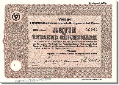 VOMAG Vogtländische Maschinenfabrik AG
