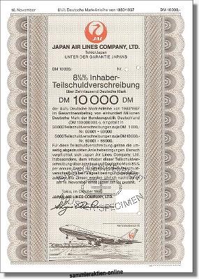 Japan Air Lines Company, LTD - JAL