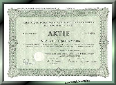 Vereinigte Schmirgel- und Maschinen-Fabriken AG