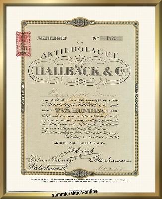 Hallbäck & Co.