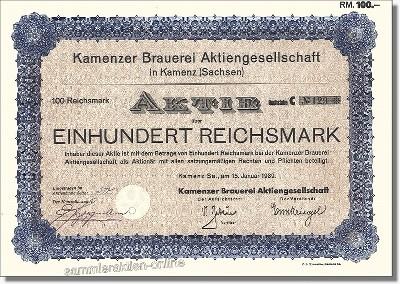 Kamenzer Brauerei AG