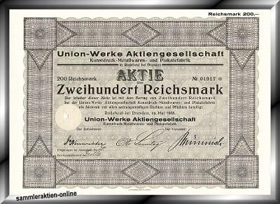 Union-Werke AG