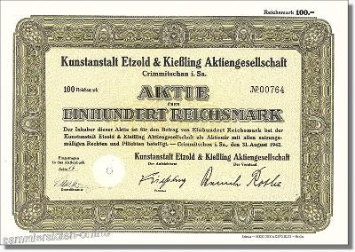 Kunstanstalt Etzold & Kießling AG