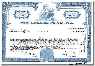 The Lazard Fund Inc.