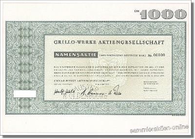 Grillo-Werke Aktiengesellschaft