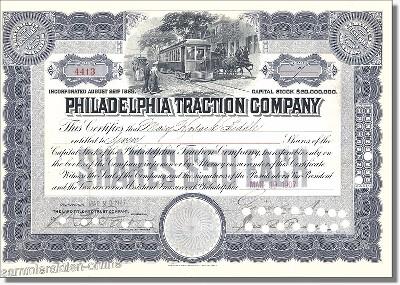 Philadelphia Traction Company