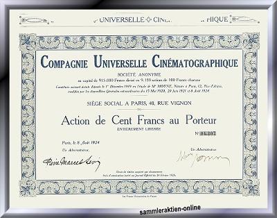 Compagnie Universelle Cinematographique
