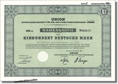 Union AG für See- und Fluss Versicherungen