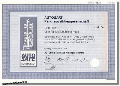 Autosafe Parkhaus AG