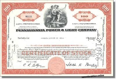 Pennsylvania Power & Light Company