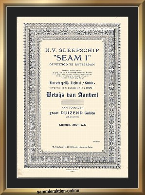N.V. Sleepschip SEAM 1