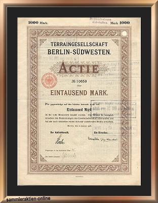 Terraingesellschaft Berlin-Südwesten