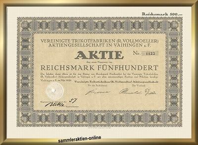 Vereinigte Trikotfabriken R. Vollmoeller AG