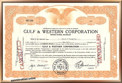 Gulf & Western Corporation