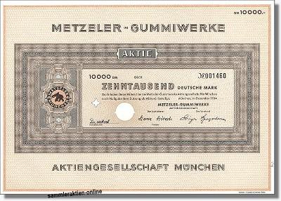 Metzeler-Gummiwerke AG