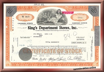 King's Department Stores Inc.