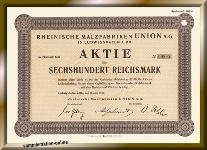 Rheinische Malzfabriken Union AG