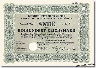 Bierbrauerei Gebrüder Müser AG