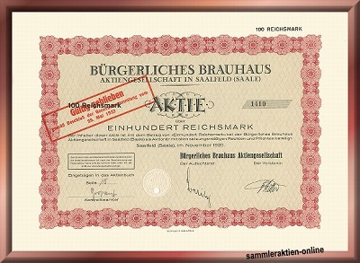 Bürgerliches Brauhaus AG