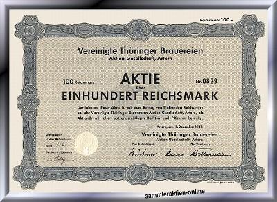 Vereinigte Thüringer Brauereien AG