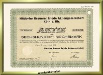 Hitdorfer Brauerei Friede AG