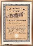 Hansa Brauerei Aktiengesellschaft