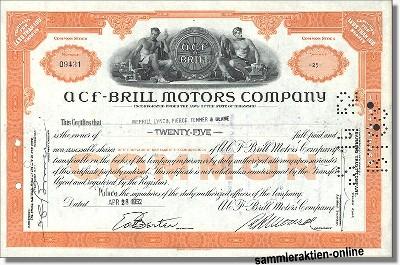 ACF-Brill Motors Company