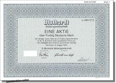 Bluthardt Aktiengesellschaft