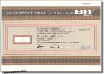 Baden-Württembergische Bank AG, BW-Bank