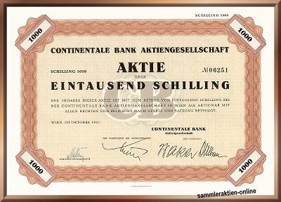 Continentale Bank Aktiengesellschaft