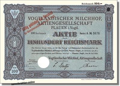 Vogtländischer Milchhof AG