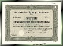 Gera-Greizer Kammgarnspinnerei AG