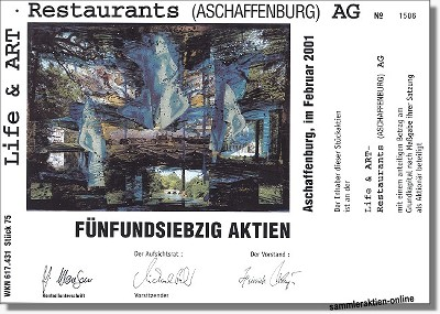 Life & Art Restaurants Aschaffenburg AG